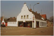 47114 Opticiën Koos Verbeek, vroeger horlogerie en juwelier Verbeek, 1985
