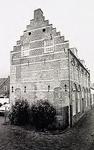 Een serie van 3 foto's betreffende de Latijnse school, Schoolstraat, 1991