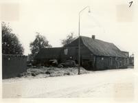 577762 Het huis van de smid Jantje Verstappen in de Emmastraat, 1961