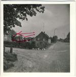 577873 Hoek Wolfsberg (rechts) en de Polderweg (links), 1963