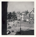 578020 werkzaamheden aan de kruising Prins Bernhardstraat-Markt, 1955-1965