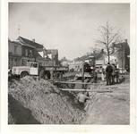 578021 Graafwerkzaamheden bij de reconstructie van de Markt, 1955-1965