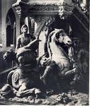 578030 Preekstoel in de Heilige Maria Presentatie kerk aan de Kerkstraat, 1977