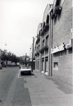 578159 Zijgevel van de Rabobank aan de Emmastraat, 1980