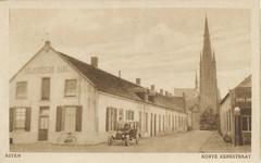 576013 Korte Kerkstraat in 1920, links de Helmondsche bank, 1920