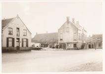 576039 Afbraak van hotel de Arend, met links de Amsterdamsche Bank, en rechts het gemeentehuis, 1938