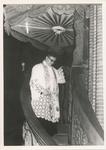 576122 Deken H. van Pelt na zijn eerste preek in Asten, 1960