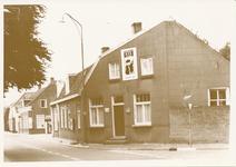 576302 Zijgevel van café - bakkerij Frans Eijsbouts aan de Prins Bernhardstraat, 1970