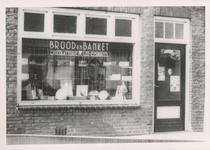 576797 Brood- en banketwinkel van Leo Eijsbouts, Wolfsberg, 1955