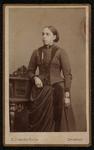 1820-17 Deventer - Album Burgerweeshuis en Kinderhuis - Carte de VisitePortret van een vrouw.