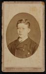 1820-23 Deventer - Album Burgerweeshuis en Kinderhuis - Carte de VisitePortret van een jongen. In ovaal. Opschrift ...