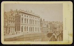 1821-11 Deventer - Album Burgerweeshuis en Kinderhuis - Carte de visiteAmsterdam, Postkantoor aan de Nieuwezijds Voorburgwal.