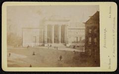 1821-12 Deventer - Album Burgerweeshuis en Kinderhuis - Carte de visiteAmsterdam, de beurs van Zocher (afgebroken ...