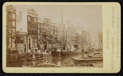 1821-13 Deventer - Album Burgerweeshuis en Kinderhuis - Carte de visiteAmsterdam, Singel, gezien naar de hoek van de ...