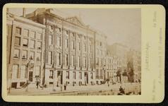 1821-14 Deventer - Album Burgerweeshuis en Kinderhuis - Carte de visiteAmsterdam, het museum (aan een gracht).