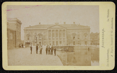 1821-15 Deventer - Album Burgerweeshuis en Kinderhuis - Carte de visiteAmsterdam, de schouwburg.