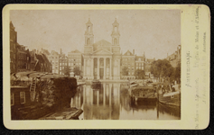 1821-7 Deventer - Album Burgerweeshuis en Kinderhuis - Carte de visiteAmsterdam, de Leprozengracht gezien richting de ...