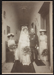 318 Aanvulling fotomateriaal BesierBruiloftsportret van Christina Magaretha Besier en Jhr. Fredrik Beelaerts van ...