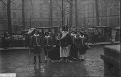 290 Glasnegatievencollectie JW JansenSint Nicolaas op de Houtmarkt, bij de Boreelkazerne
