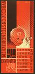 1 N.V. Boek en Steendrukkerij De IJsel DeventerVloeiblad ongebruikt, uitgevoerd als kalenderblad april 1934, in rood ...
