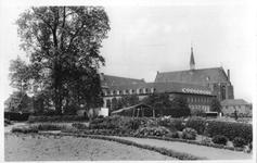 265078 Het klooster te St. Agatha, gezien vanuit de kloostertuin