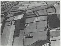 Helemaal bovenaan een gedeelte van Maarnse Meent.Daaronder de ontginning De Haar met links boerderij De Haar en ...
