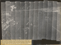 Luchtfoto van het westelijke gebied van Maarn, daterende uit 1925.Rechts het rangeeremplacement der Nederlandse ...