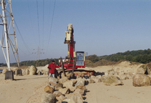 Zandafgraving, opbouw steneneiland, dk46 steen 3