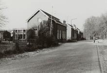 Voormalige dienstwoningen voor het personeel van de Nederlandse Spoorwegen (NS), dat werkzaam was op het ...