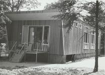 Houten kleuterschool, geopend oktober 1966
