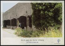 Een gebouw van het Werk aan de Korte Uitweg