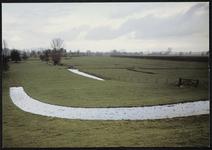 Afrit vanaf de Lekdijk ten oosten van Fort Honswijk
