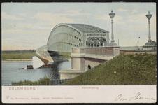 De spoorbrug naar Culemborg