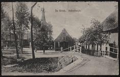 De Brink gezien vanaf de brug naar de Provincialeweg