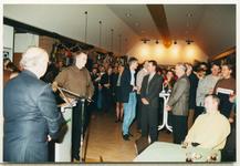 11565 - Oudejaarsbijeenkomst en afscheid van gemeentesecretaris mw. drs. A.J.M. van Belle-Bakker in het gemeentehuis. ...