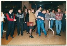 11596 - Oudejaarsbijeenkomst en afscheid van gemeentesecretaris mw. drs. A.J.M. van Belle-Bakker in het gemeentehuis. ...