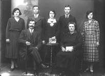 397_15_28 Groepsfoto Familie Jessen-Tummers Overhoven Sittard Groepsfoto Familie Jan Nicolas Jessen en Maria Elisabeth ...