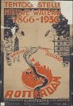 AFFICHE_D_54 Tentoonstelling Nieuwe Waterweg 1866-1936 - Brielle, Hoek van Holland, Rotterdam, 1936
