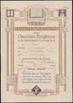 BELIJDENISAKTE_007 TER HERINNERING aan de OPENBARE BELIJDENIS in de Nederlandse Hervormde Kerk te pernis aan Arie ...