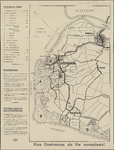 TA_OOSTV_010 Wegenkaart met vermelding toeristische objecten in en rond Oostvoorne en Rockanje