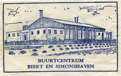 SZ1301. Buurtcentrum Biert en Simonshaven.