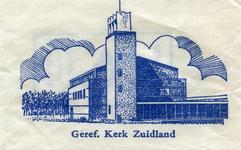SZ1705. Gereformeerde kerk Zuidland.