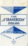 SZ1710. Café d'Oranjeboom.