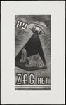 SPUIJBROEK_173A Hij zag het: een oog ziet de kerk van Nieuw-Helvoet, ca. 1955