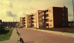 DIA41746 Spijkenisse; ; Flatwoningen van V/d Vorm, 1966