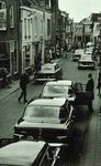 DIA42492 Spijkenisse; ; Trouwauto's Wim Schipper en Adri Koornneef vertrekken naar Raadhuis, 7 april 1966