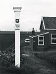 AB_GRENSPALEN_008 Grenspalen van de Privatieve Visserij van Abbenbroek; paal nummer 4, de grens tussen Abbenbroek en ...
