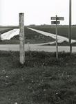 AB_GRENSPALEN_012 Grenspalen van de Privatieve Visserij van Abbenbroek; paal nummer 5. De grenspaal stond vroeger 100 ...