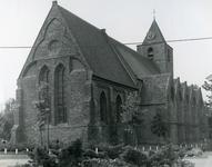 AB_KERKPLEIN_005 De Dorpskerk van Abbenbroek uit de vijftiende eeuw; ca. 1975