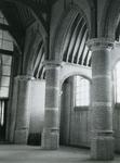 AB_KERKPLEIN_007 Interieur van de Dorpskerk van Abbenbroek uit de vijftiende eeuw; ca. 1950